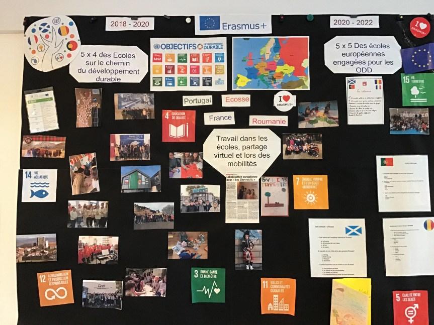 Projets européens en Lorraine : 5×4 des écoles sur le chemin du développement durable