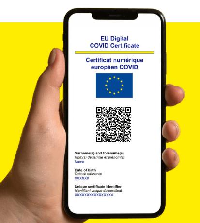 Le certificat Covid numérique de l'UE finalement adopté