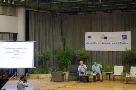 Εκδήλωση 2017-06-29 Πάνος Καζάκος - Γιάννης Παπουτσής 1