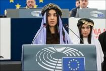 Η Νάντια Μουράντ και Λαμίγια Χατζι Μπασάρ, Γιαζίντι απο το Ιράκ, θύματα σεξουαλικής δουλείας από το Ισλαμικό Κράτος και ακτιβίστριες, παρέλαβαν σήμερα 13 Δεκεμβρίου 2016, το Βραβείο Ζαχάρωφ του Ευρωπαϊκού Κοινοβουλίου για την ελευθερία της σκέψης.