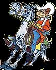 Romania - Comics - Cowboy Dog