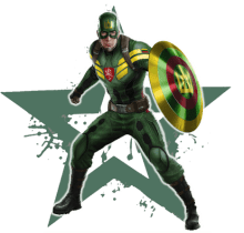 Superheroes - Lithuania - Captain Lithuania