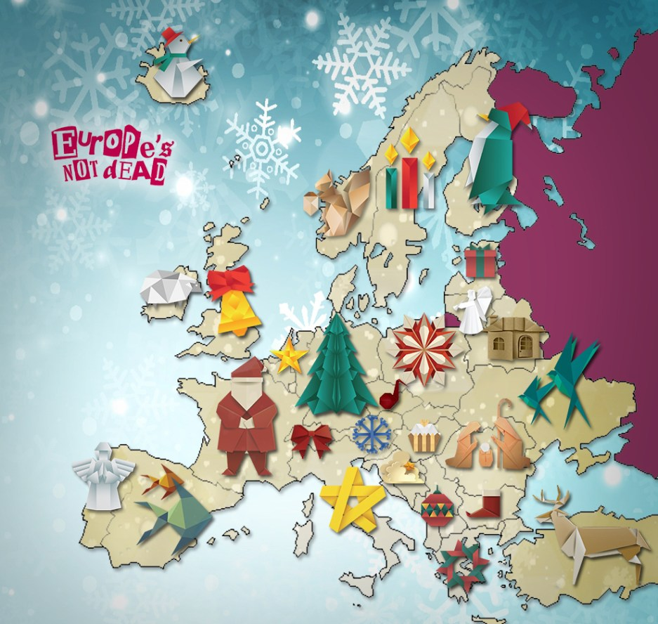 European Christmas Carols Europe Is Not Dead