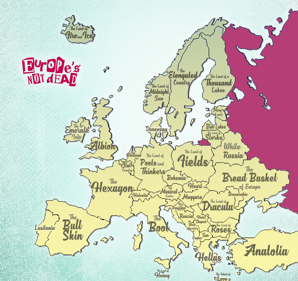 European Countries' Nicknames