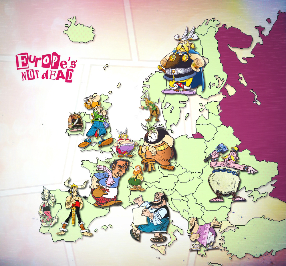 Europeans in Asterix