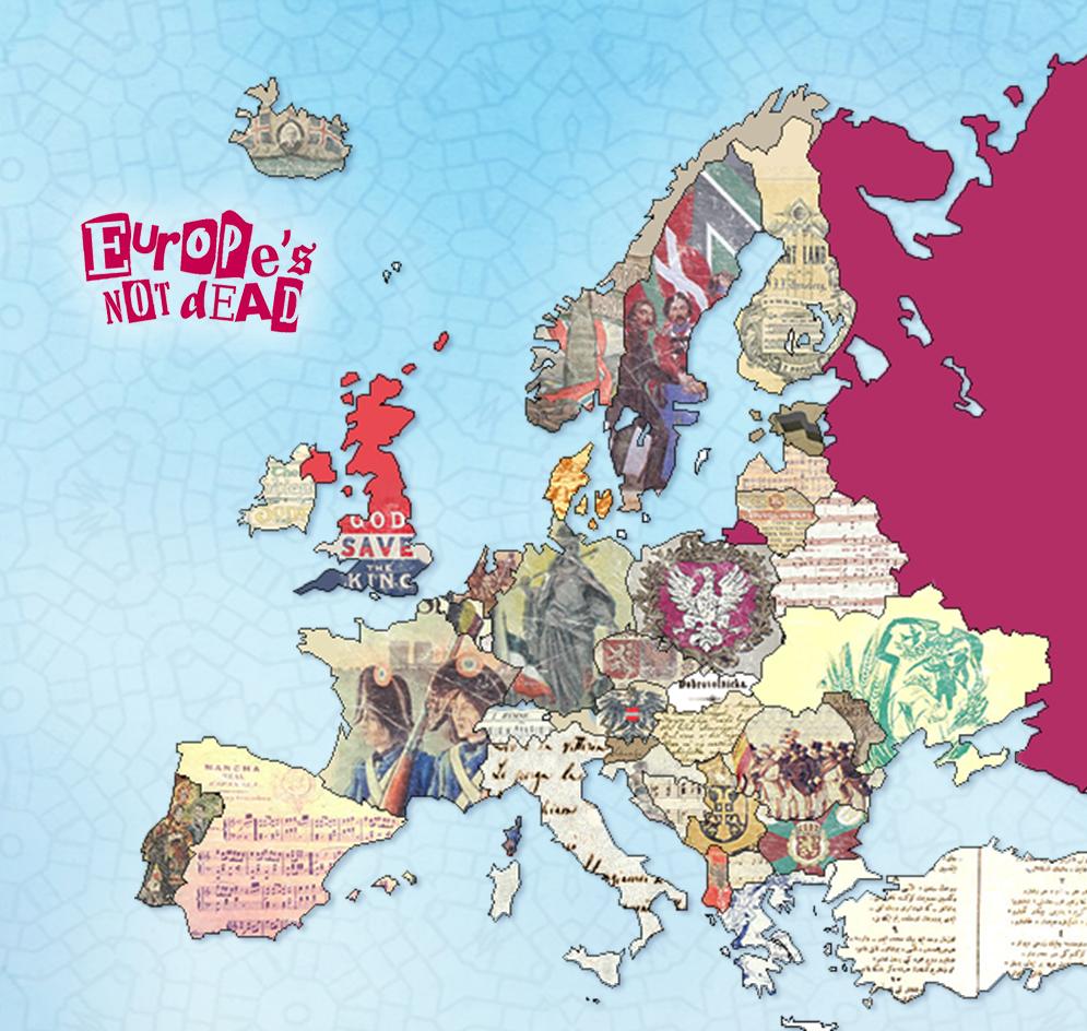 Hymnes nationaux européens