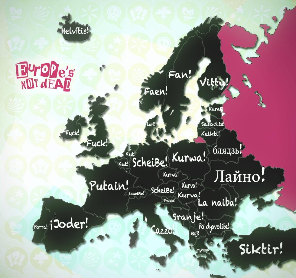 Jurons européens