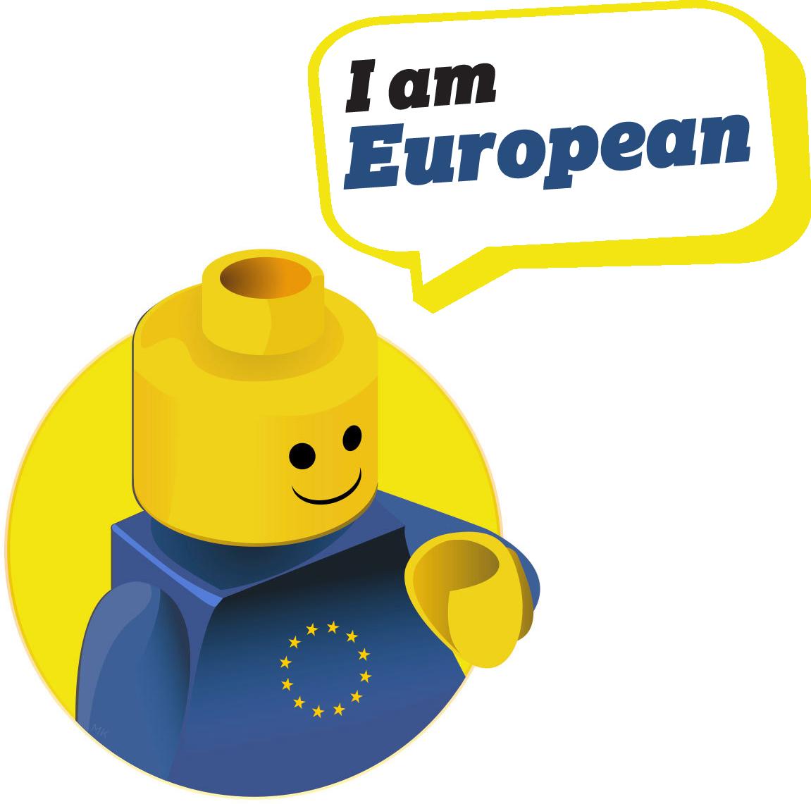 European Characters - Lego