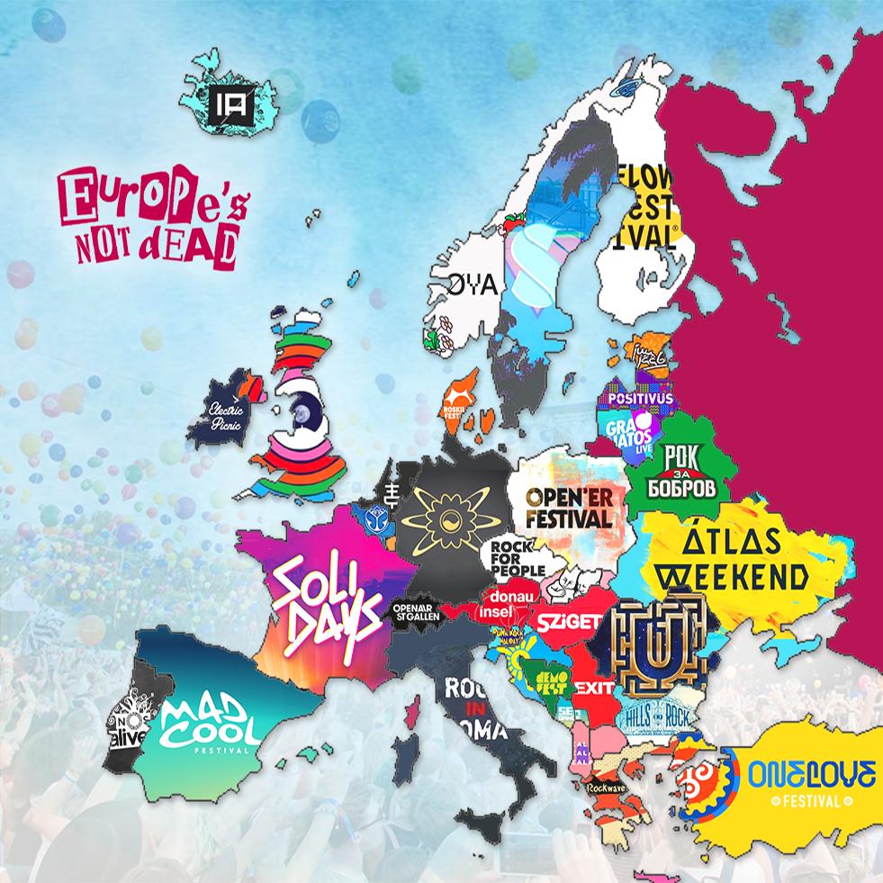 Festivals européens
