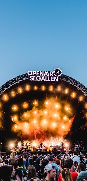 Switzerland - European Festival - OpenAir St.Gallen 2