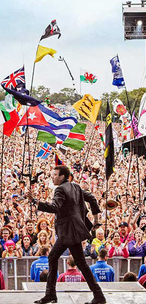 United Kingdom - European Festival - Glastonbury festival 3