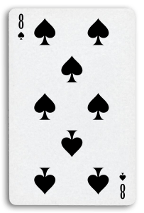 French-Suited Playing Cards - Piques - Spades