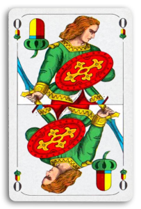 German-Suited Playing Cards - Eichel - Acorns 2