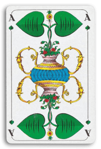German-Suited Playing Cards - Laub - Leaves