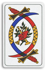 Italian-Suited Playing Cards - Spade - Swords