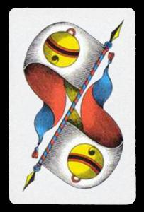 Swiss-Suited Playing Cards - Schellen - Bells