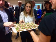 Guests enjoy sampling the Lough Neagh eels