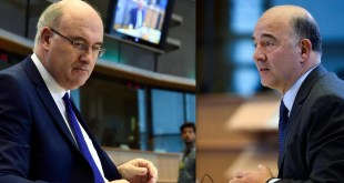 Phil Hogan, Pierre Moscovici
