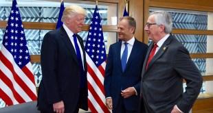 Trump, Tusk, Juncker