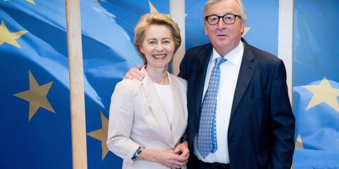 Leyen, Juncker