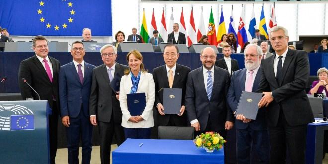 Schválenie Parížskej dohody