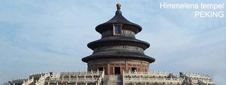 himmelens tempel Kina