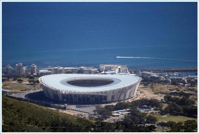 reseskildring stadion