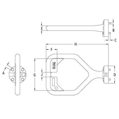 D Handle schematic