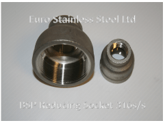 """BSP Reducing Sockets 1/4"""" to 4"""" 316s/s"""