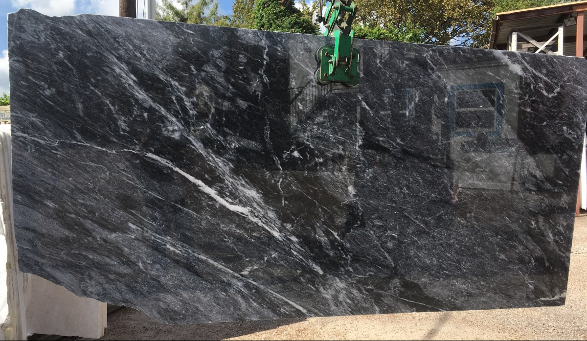 Alivery Gray Marble Slab Eurostone Houston