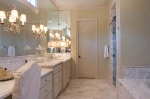 Olympus White Marble Tiles Slabs Custom Home Eurostone Houston interior design