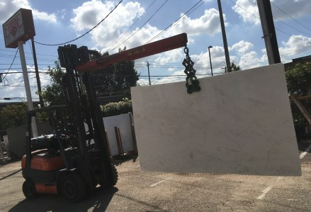Volakas Light Marble Slab Eurostone Houston
