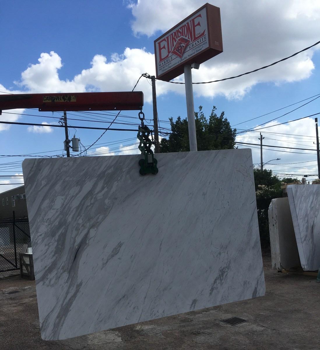 Volakas Venato Marble Slab Eurostone Houston