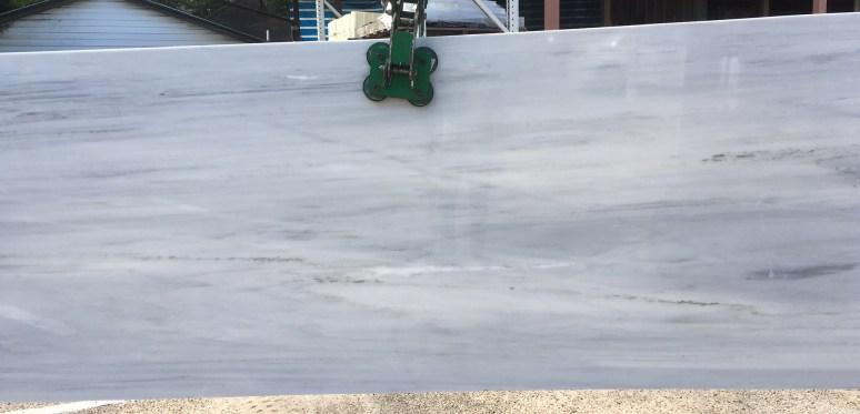 Olympus White Marble Slab