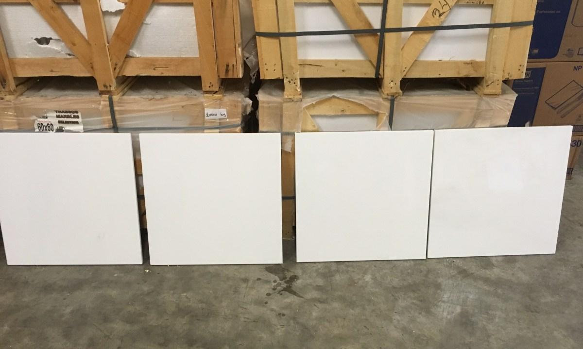 Thassos White Marble Tiles Large Eurostone Houston