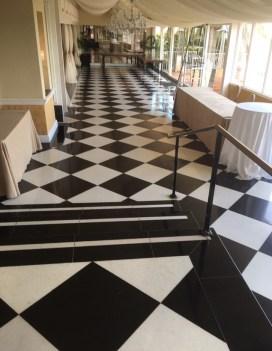 natural marble tile floor miami florida houston texas black and white