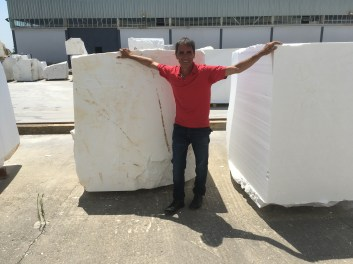 Natural Marble Block Selection Greece Eurostone Houston