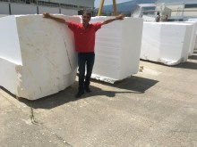 Natural Marble Blocks Greece Eurostone Houston Quality Control