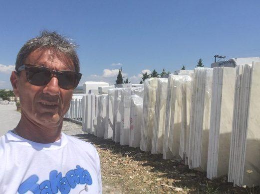 Olympus White Natural Marble Slabs Greece Eurostone Houston