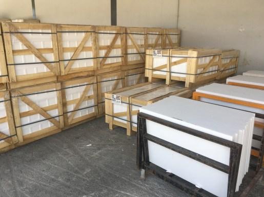 """Greece Thassos White Select Natural Marble Slabs 18""""x40"""" Eurostone Houston"""
