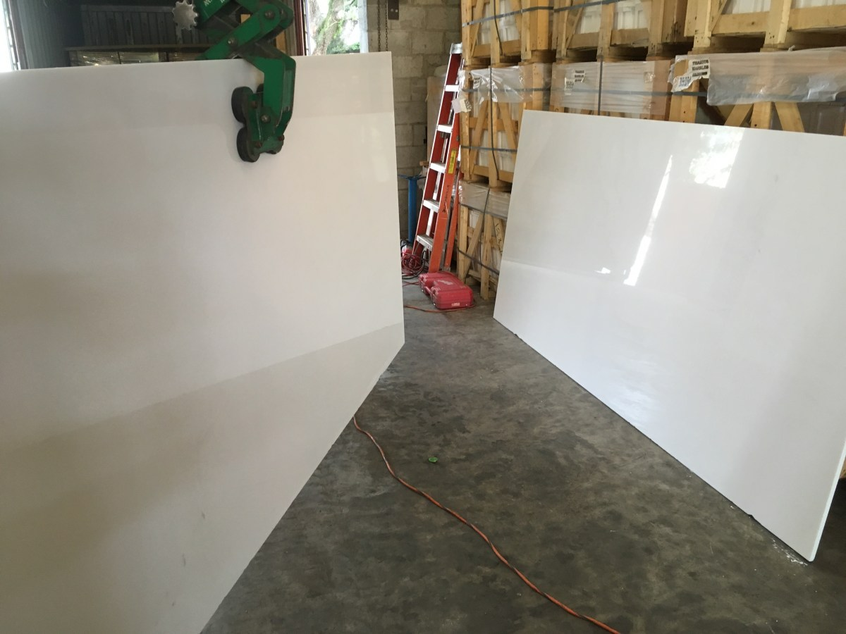Thassos White natural Greek marble large slabs Eurostone Houston