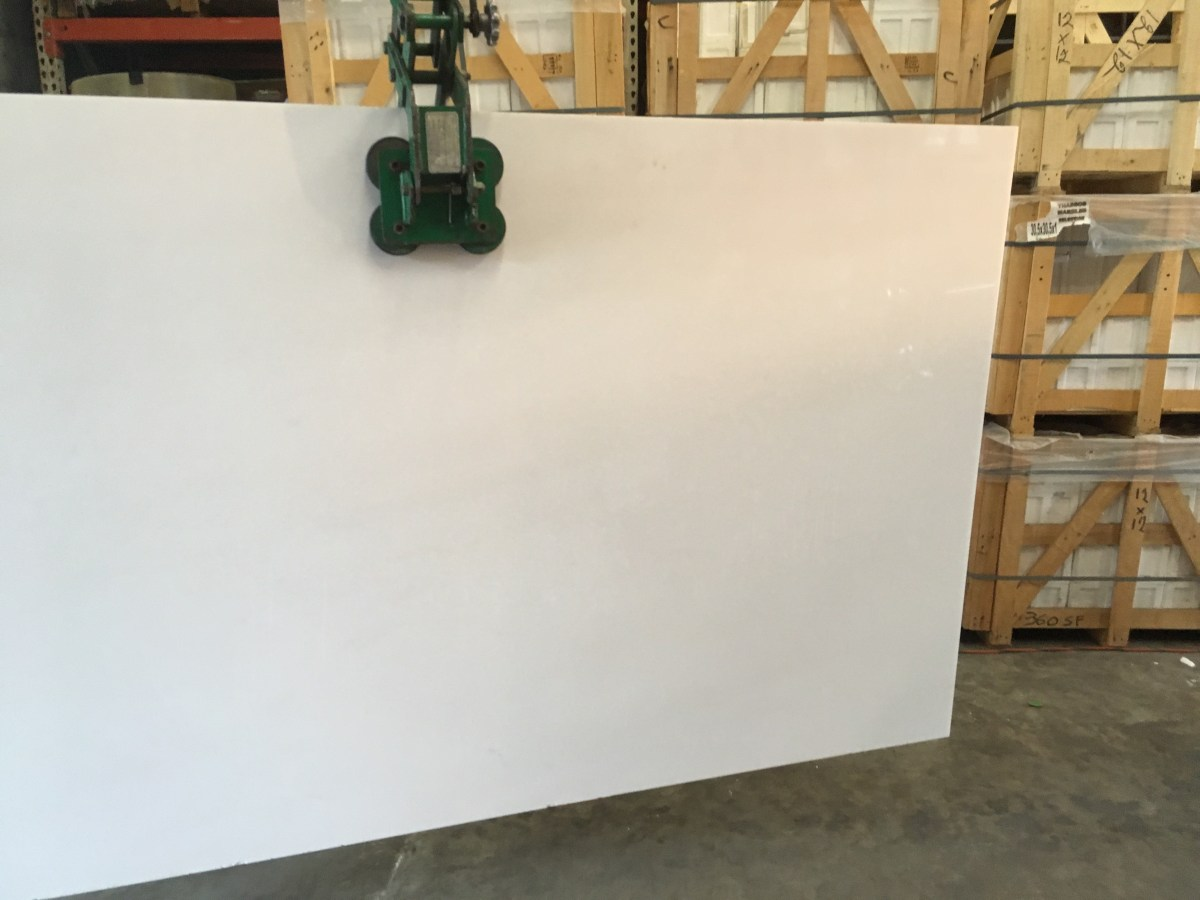 Thassos White natural marble slab Houston Eurostone