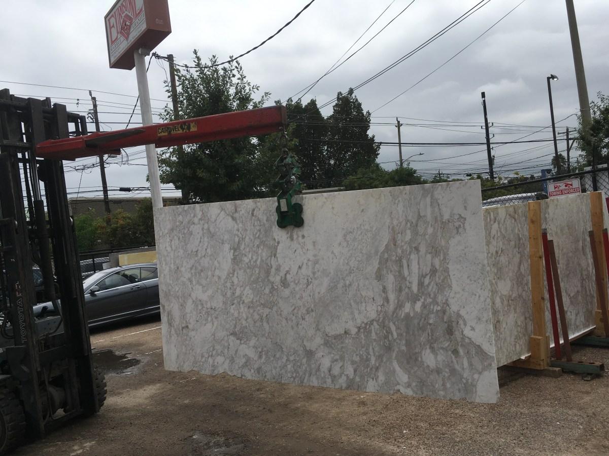 Arabesque White Natural Greek Marble Eurostone Houston