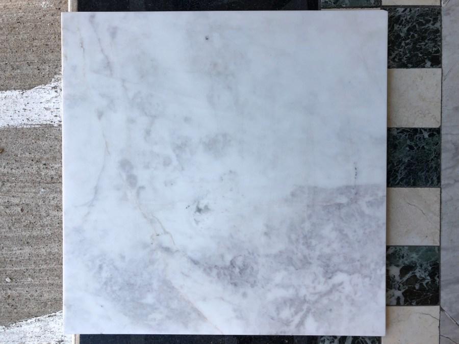 "Olympus White Natural Marble Tile Honed 16""x16"" Eurostone Houston"