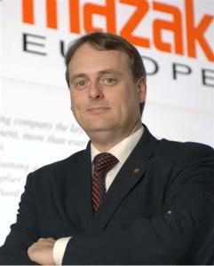 Mazak Europe's new Group Managing Director
