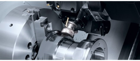 The NLX roadshow concentrates on latest complete machining giving examples on a NLX2500.