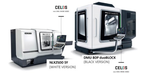 "In addition to all of the technical features, in the future users will also be able to select DMG and MORI SEIKI machines from two machine designs in ""BLACK"" or ""WHITE"" at no additional cost."