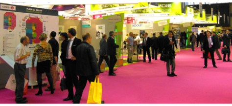 42,101 professionals came to the show, many with specific plans for projects, and 15% of them were from outside France.