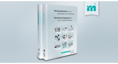 Meusburger's new catalogue Workshop Equipment for Tool and Mould Making.