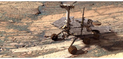 Mars rover Opportunity. Image credit: NASA/JPL-Caltech